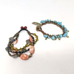 Beach vibe bracelets from Greece (2)